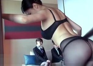 Asian flight attendant porn