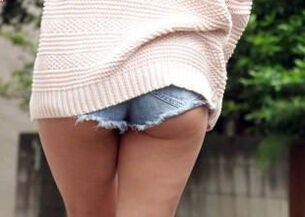 Asian upskirt panties