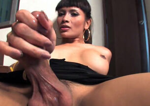Asian ladyboy cumshot compilation